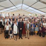 2019: The Duke of Cambridge visits Harcombe House