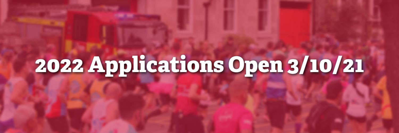 2022 Applications Open 3 OCT 21