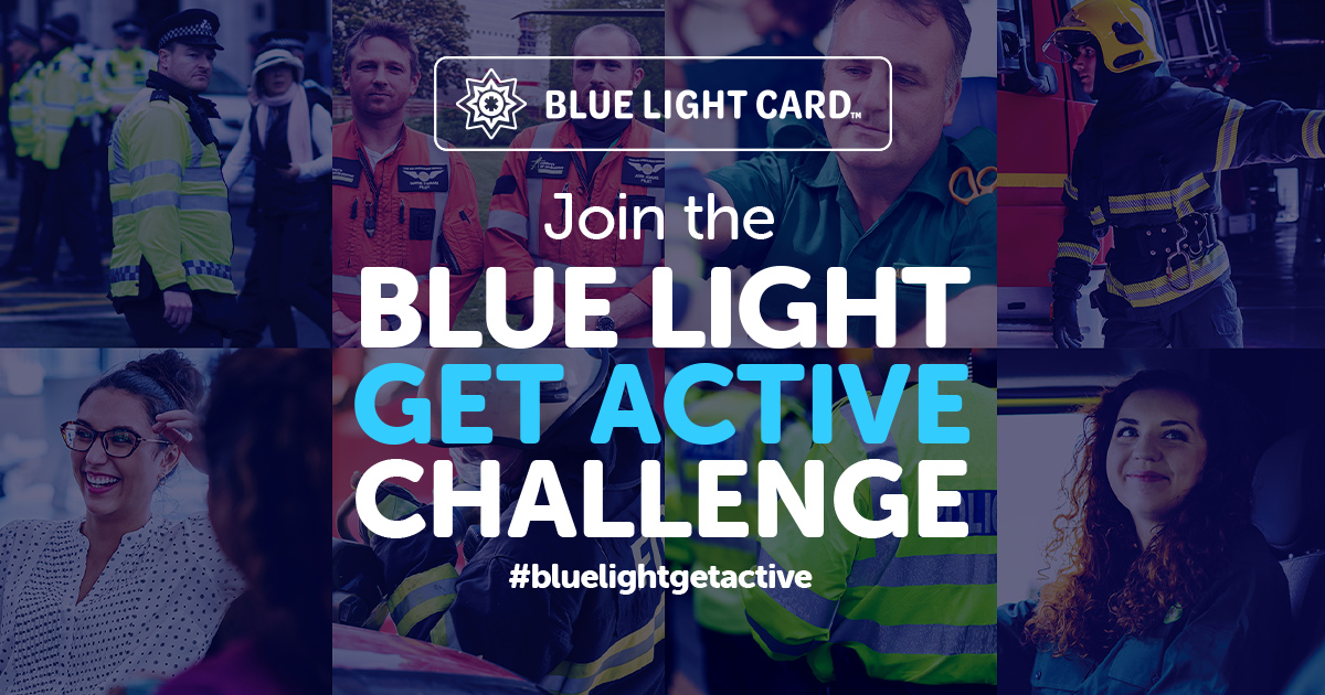 Join the Blue Light Get Active Challenge