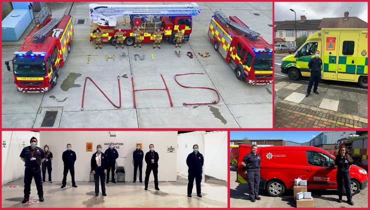Honouring our 999 heroes on Emergency Services Day