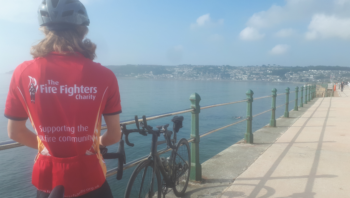 Father and son cycle 217 miles in 2 days for Charity