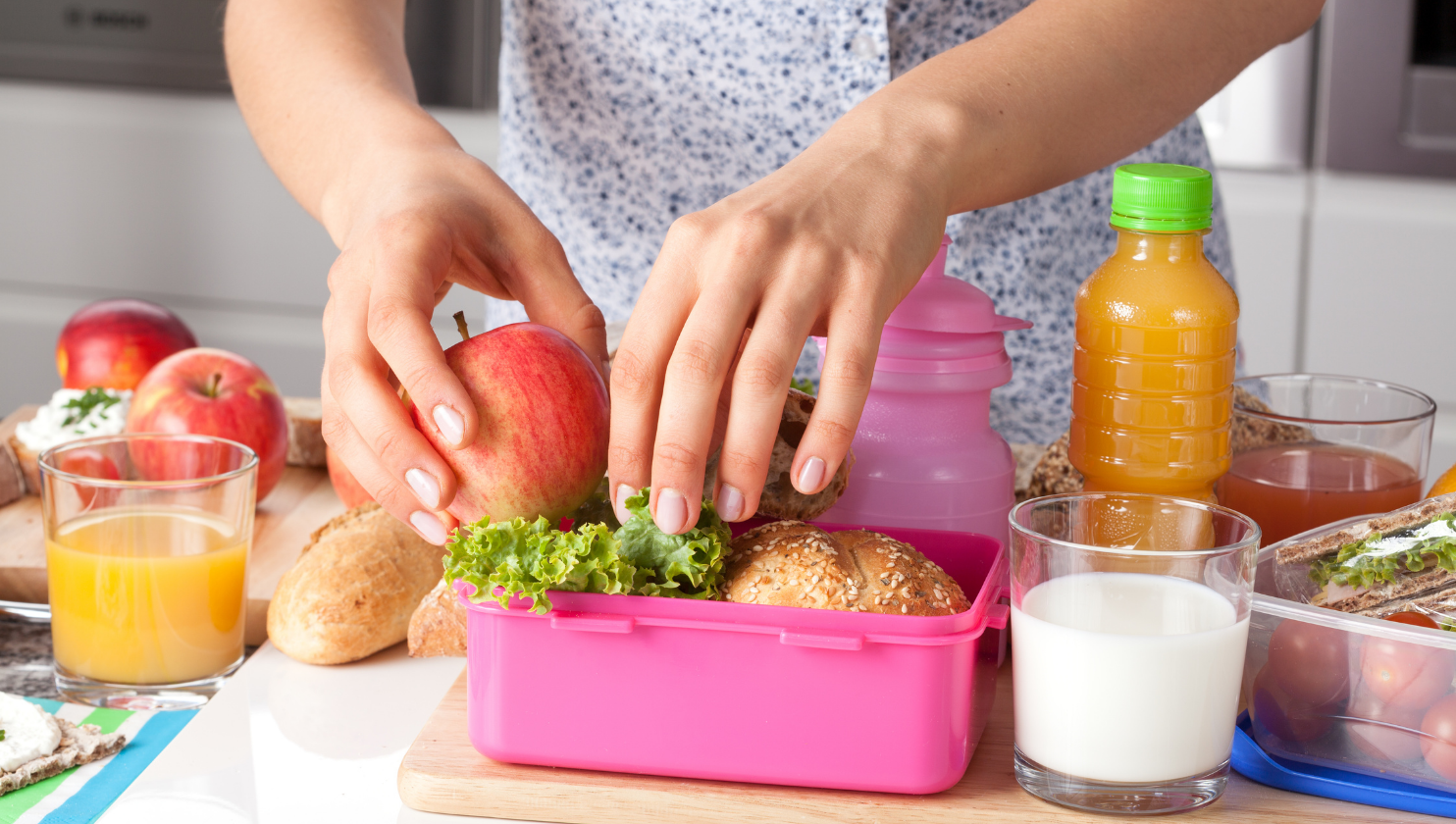 Quick and easy ways to make your lunch box healthier