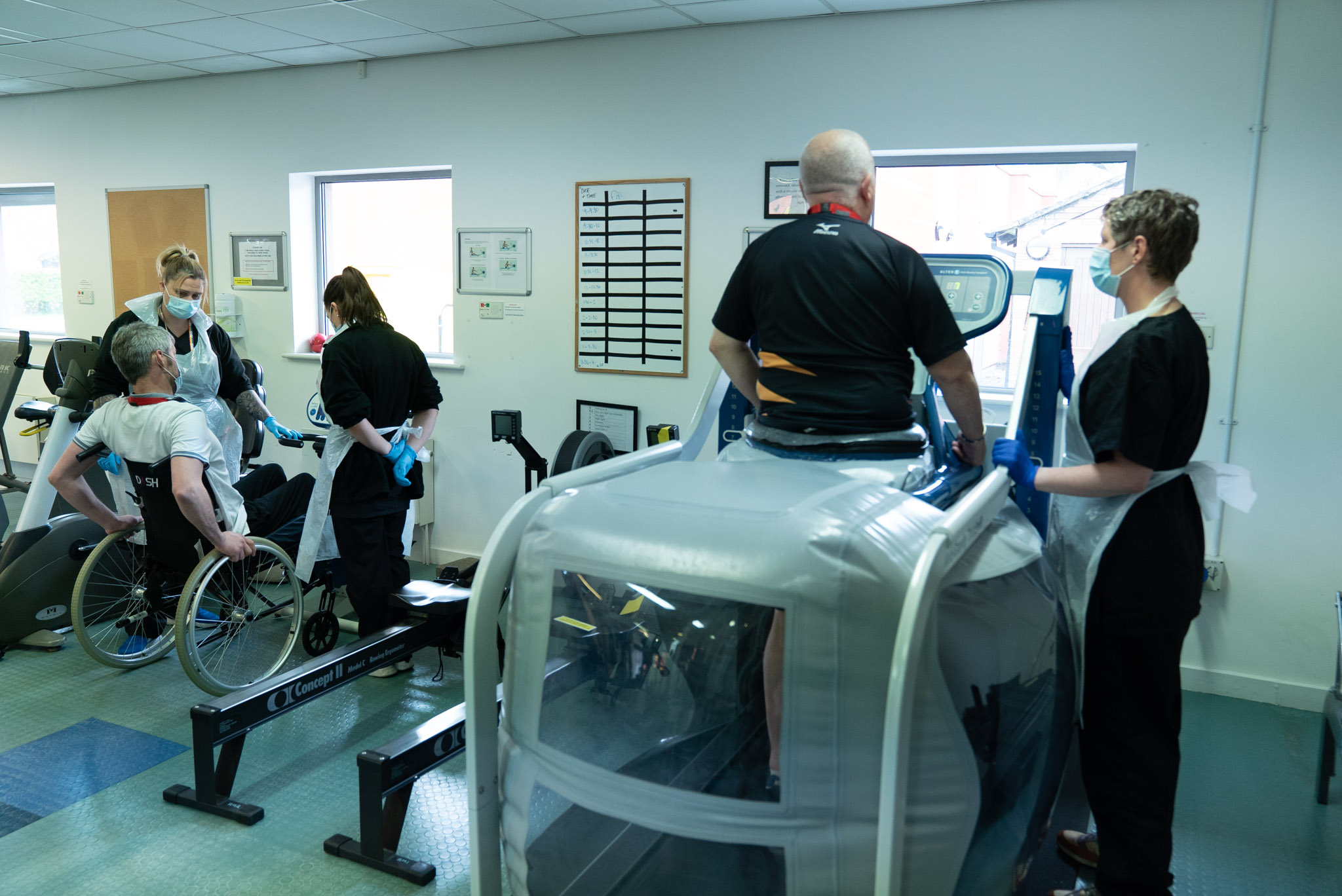 A day in the life of our physiotherapy team