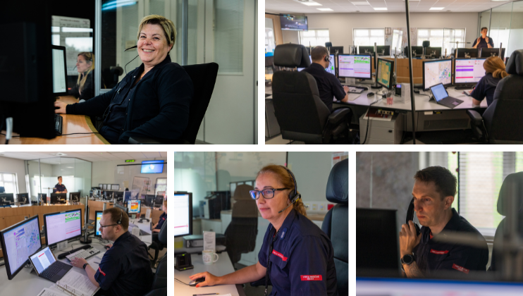 Celebrating our amazing Control Room staff